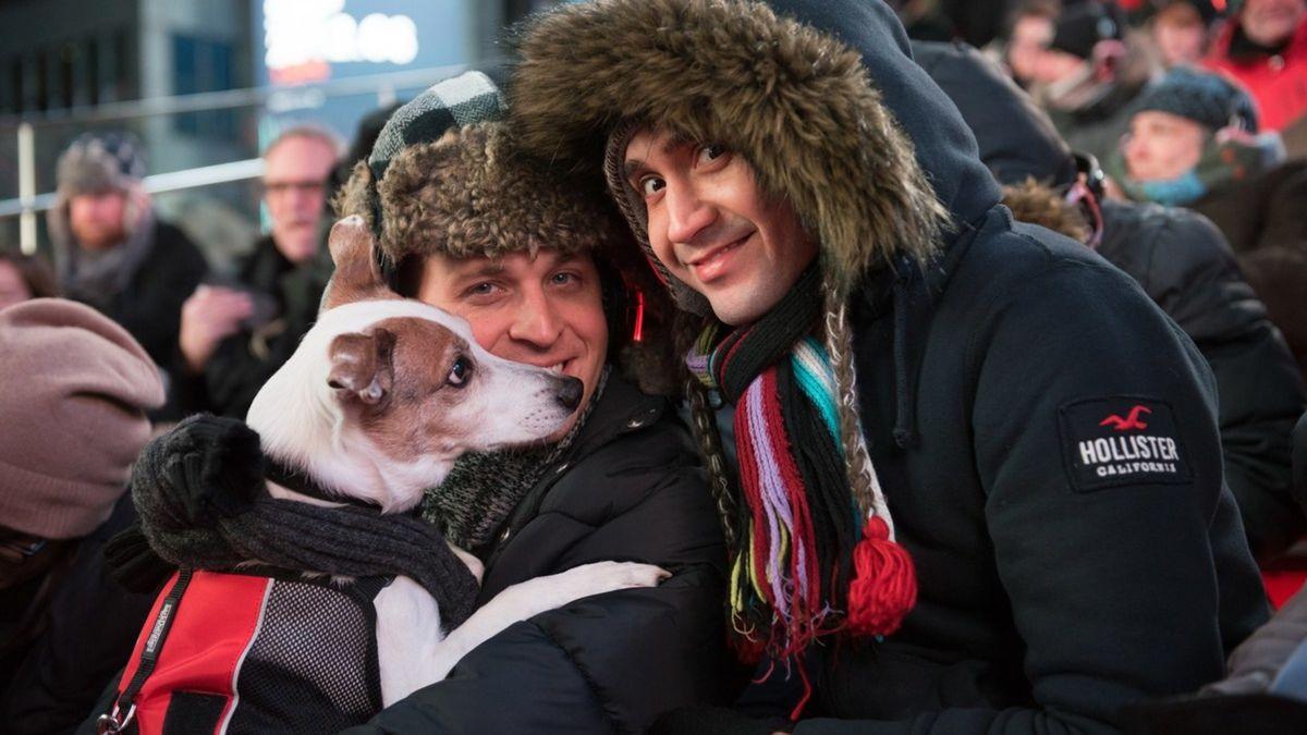 Un concert pour chiens organisé à Times Square, à New York